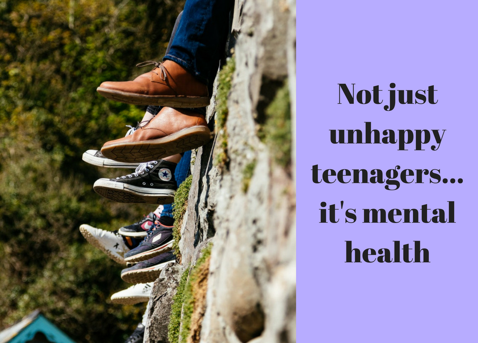 Not just unhappy teenagers …. it's mental health