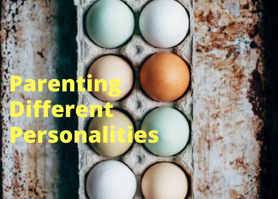 Parenting different personalities