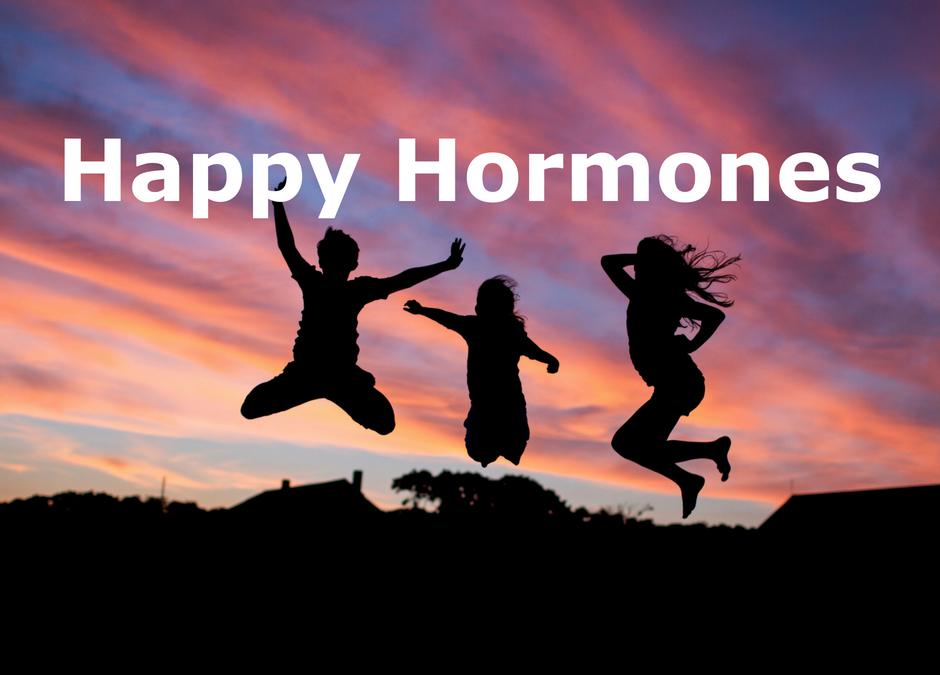Happy hormones for the brain